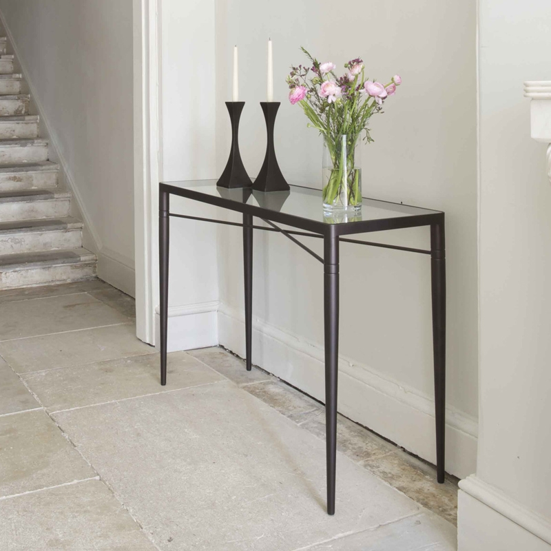 bruus design byron console table tom faulkner furniture. Black Bedroom Furniture Sets. Home Design Ideas